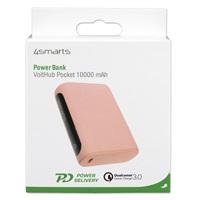 Външна Батерия с Бързо Зареждане, 4SMARTS Power Bank PD-QC3.0 10000 mAh, Розов 6.jpg