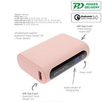 Външна Батерия с Бързо Зареждане, 4SMARTS Power Bank PD-QC3.0 10000 mAh, Розов 5.jpg