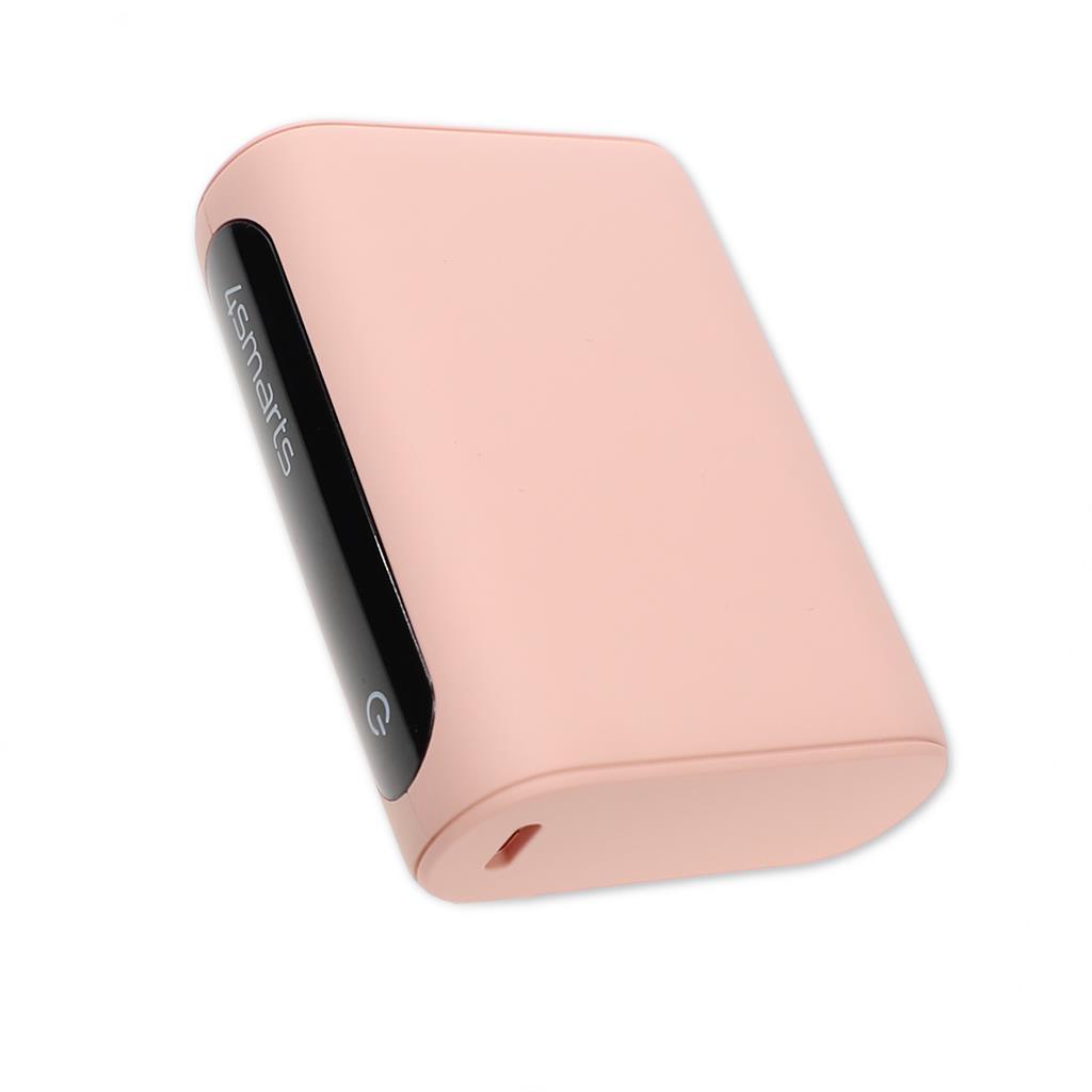 Външна Батерия с Бързо Зареждане, 4SMARTS Power Bank PD-QC3.0 10000 mAh, Розов 4.jpg