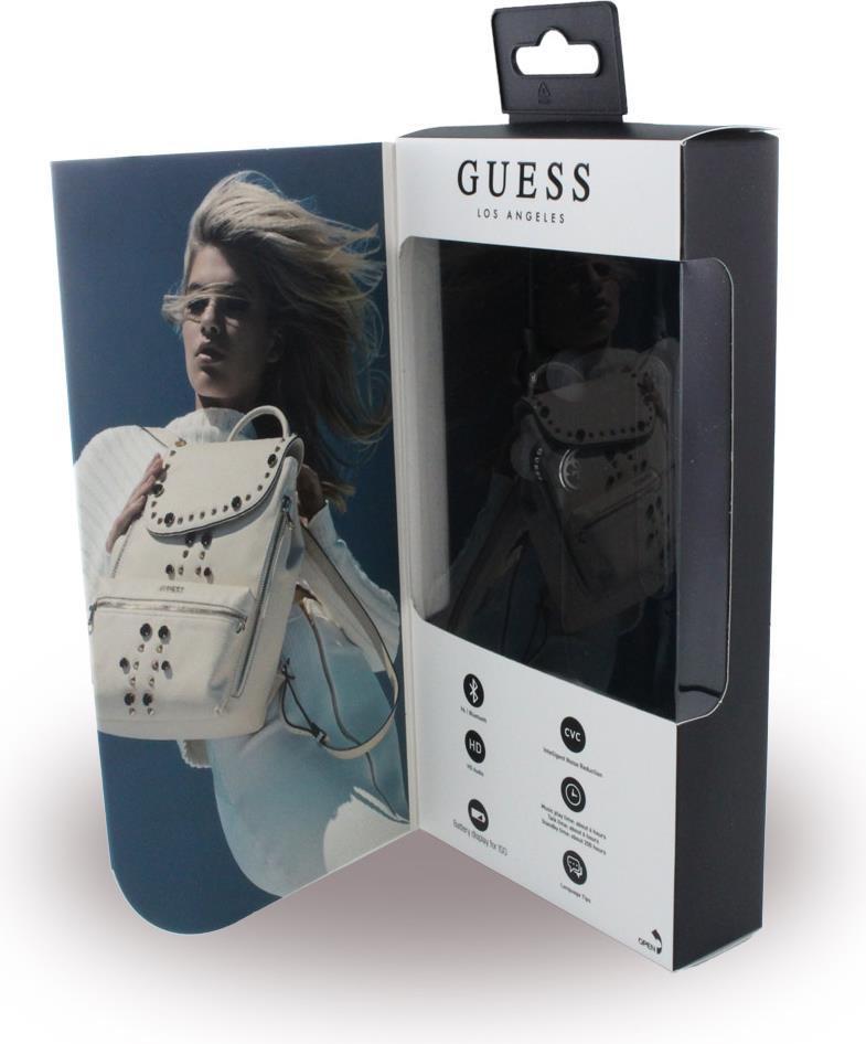 Безжични Слушалки, GUESS Handsfree Bluetooth GUEPBTBK, Черен