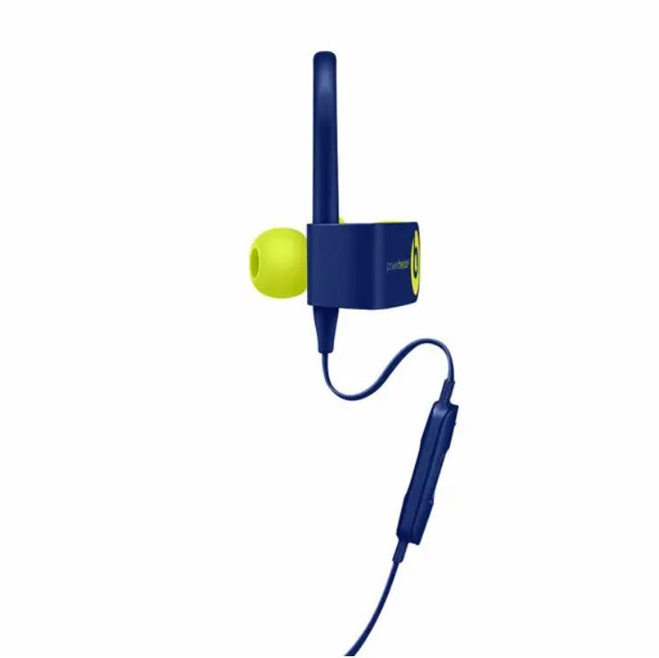 Безжични Водоустойчиви Слушалки, PowerBEATS 3 Handsfree Bluetooth, Син