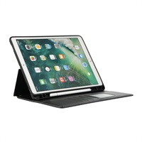 "Калъф с Pen Поставка за APPLE iPad 8/7 10.2"", Wallet Stand Case, Черен"