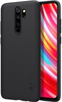 Калъф с Поставка за XIAOMI Redmi Note 8 Pro, NILLKIN Super Frosted Case, Черен