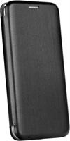 Кожен Калъф за HUAWEI P Smart 2020, FORCELL Elegance Book Case, Черен