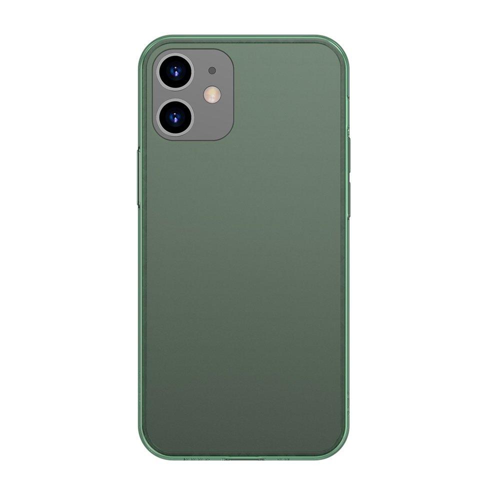 Матов Хибриден Калъф за iPhone 12/Pro, BASEUS Frosted Case, Зелен