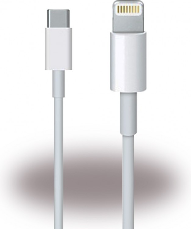 Оригинален USB-C Кабел за iPhone 11 Pro, APPLE (Lightning) Mk0x2zm/a 1m, Бял