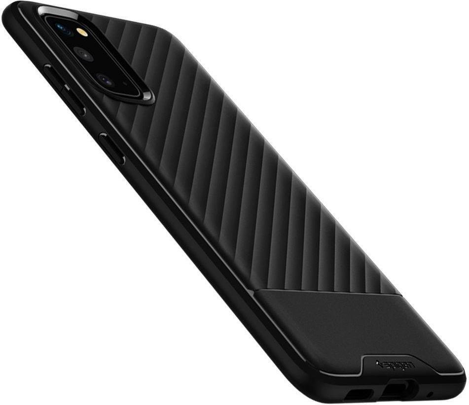 Противоударен Силиконов Калъф за SAMSUNG S20 FE, SPIGEN Core Armor Case, Черен
