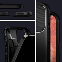 Противоударен Силиконов Калъф за iPhone 12/Pro, SPIGEN Rugged Armor Case, Черен
