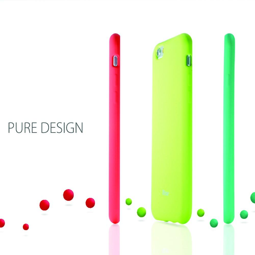 Силиконов Калъф за iPhone 11 Pro Max, ROAR Color Case, Червен
