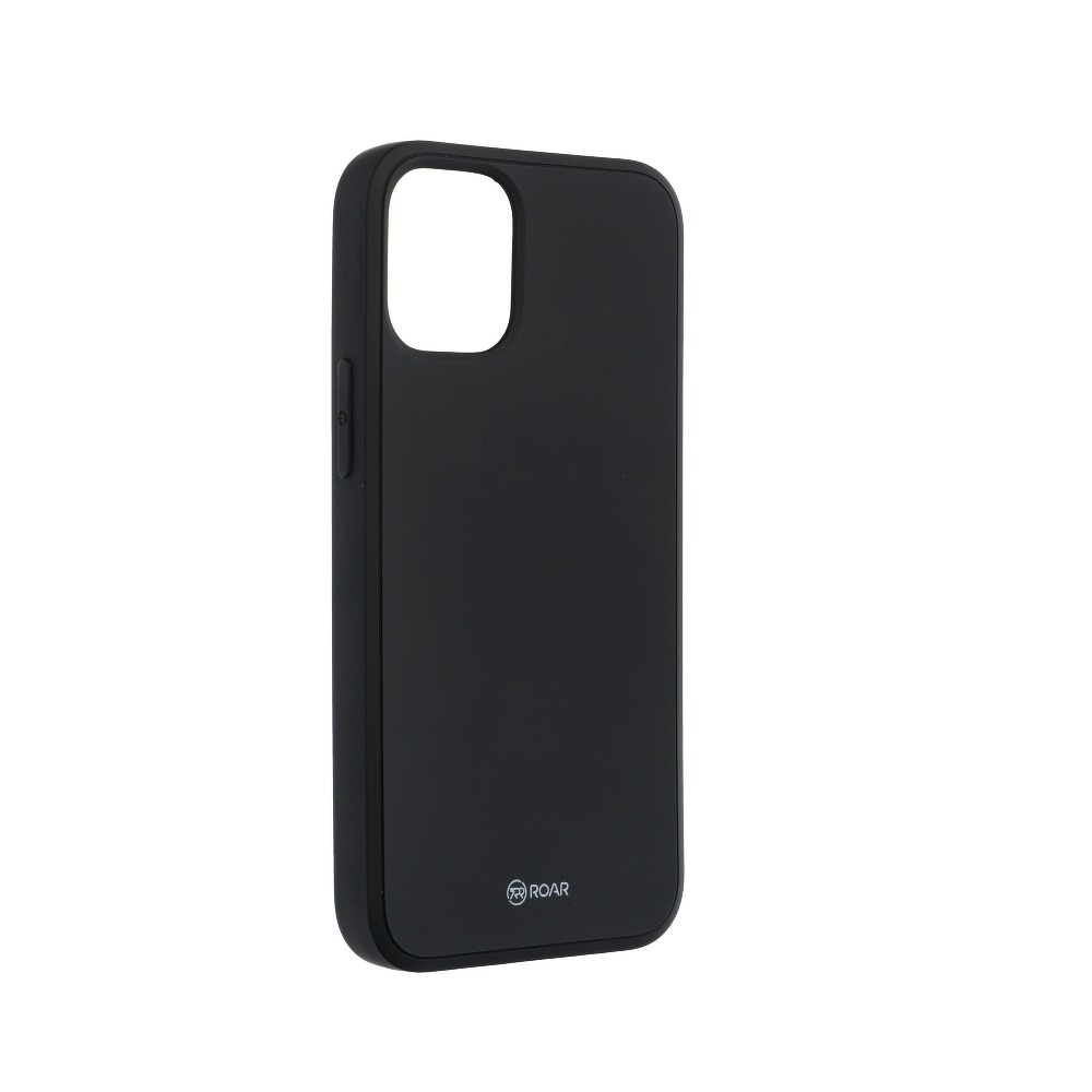Силиконов Калъф за iPhone 12 Mini, ROAR Color Case, Черен