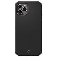 Силиконов Калъф за iPhone 12/Pro, SPIGEN Ciel by Cyrill Silicone Case, Черен