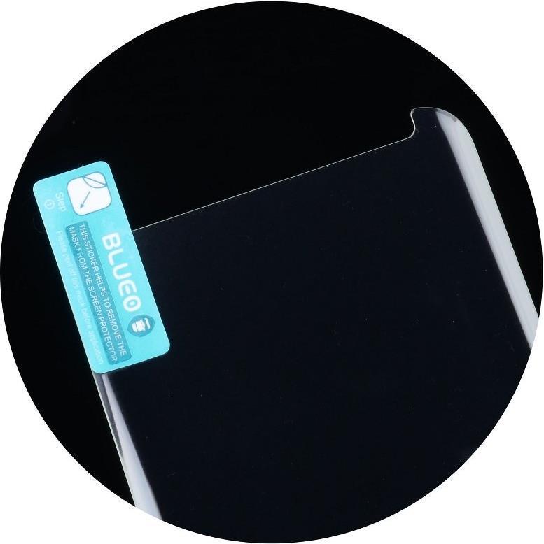 Стъклен Протектор с UV лепило за SAMSUNG S8 Plus, MR. MONKEY UV 5D Glass, Прозрачен
