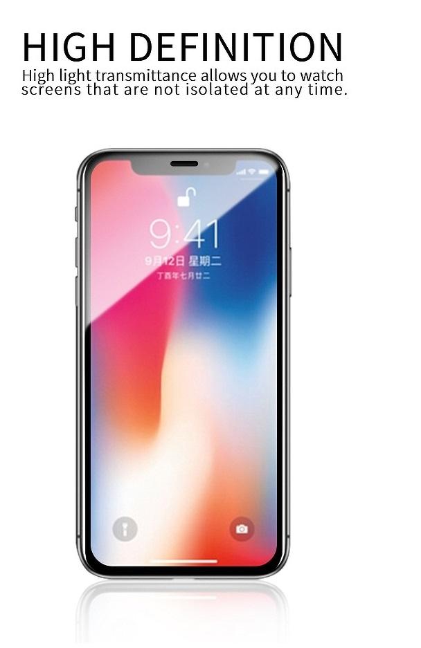 Стъклен Протектор за iPhone 11 Pro/XS/X, X-ONE Extra Strong 3D Glass, Черен