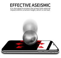 Стъклен Протектор за iPhone 11/XR, X-ONE Extra Strong 3D Glass, Черен