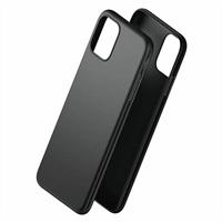Тънък Матов Калъф за iPhone 12/Pro, Forcell Soft Case, Черен