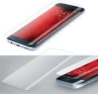Удароустойчив Протектор за SAMSUNG J5 2017, FORCELL Silicone 3D Nano Glass, Прозрачен